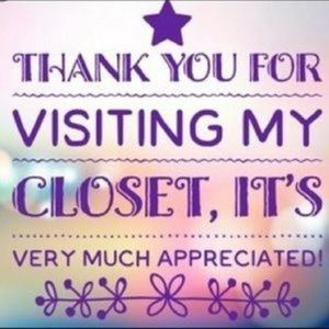 Thank you for visiting my closet